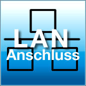 LAN (Local Area Network) Anschluss (RJ-45)